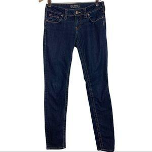 Silver Aiko Skinny Jeans Size 27/31 Dark Wash